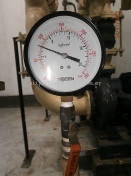 """TOZEN (4""""X3/8"""") WATER PRESSURE GAUGE"""