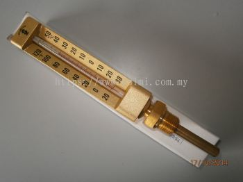 TS -30~50C Straight Type Thermometer