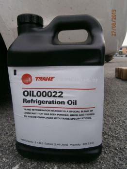 TRANE (CVHE590&260) OIL 0022 COMP OIL X 2.5USG