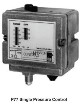 Johnson Controls P77 Series Pressure Control