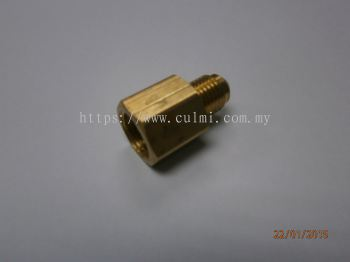 "1/4""x5/16"" Cylinder Adaptor (For R134A) (Convertion Adaptor)"