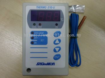 SAGINOMIYA ULE-SD11-011 DIGITAL EYE THERMOSTAT / CONTROLLER (-50C TO 30C / AC85-264V)