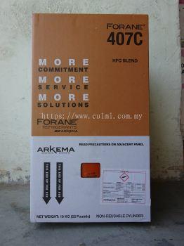Forane 407C Refrigerant Gas (10 kg)