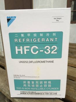 Daikin R32 Refrigerant Gas (3kg) Disposable Cyld Type