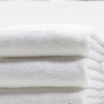 Plain White Bath Towel