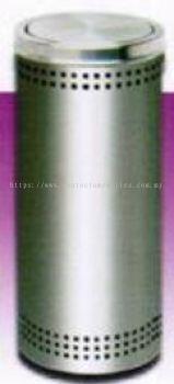 FT031-25 / FT031-30 SS Litter Bin c/w Flip Top