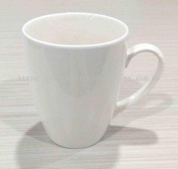 Round Porcelain Mug (340ml)
