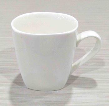 Square Porcelain Mug (290ml)