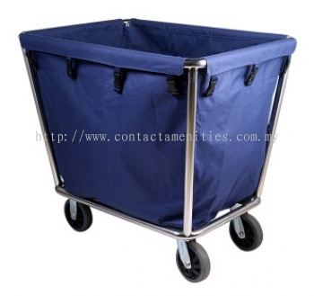 C40A Stainless Steel Soil Linen Trolley