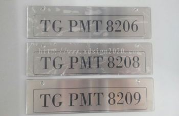 Stainless Steel Etching Tag