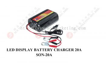 LED Display Battery Charger 20A SON-20A