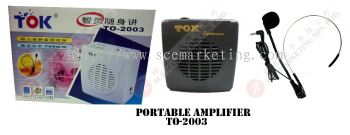 PORTABLE AMP TO-2003