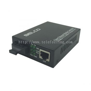 BELCO FMC1000M BELCO Fiber 10/100/1000Base Gigabit Ethernet Media converter