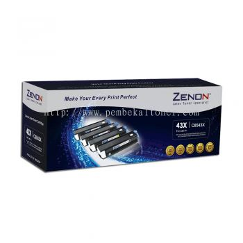 ZENON 43X ORIGINAL BLACK LASERJET TONER CARTRIDGE (C8543X) - COMPATIBLE TO HP PRINTER 9000 / 9000DN