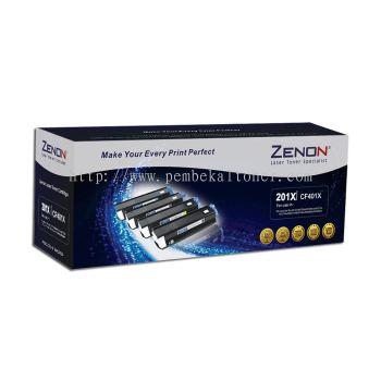 ZENON 201X ORIGINAL HIGH YIELD CYAN LASERJET TONER CART (CF401X) - COMPATIBLE TO HP PRINTER M252D