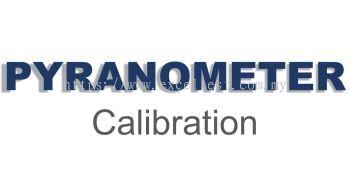 Solar Pyranometer  Calibration