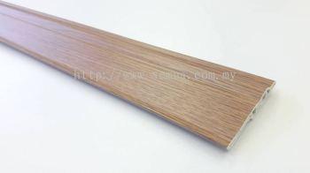 70mm PVC Skirting - Oak ( PSK70-1011 )