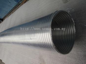 8''x6m Aluminium Semi Rigid Duct
