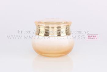 (C) Dior Glass Container-Light Orange