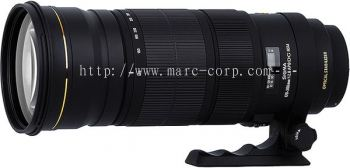 Sigma 120-300mm F2.8 EX DG OS APO HSM A Bright Lens with An Aperture of f2.8 Through The Full Zoom Range of 120mm-300mm