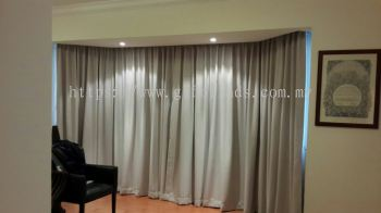 Fabric Black Out Curtain - Fabric Curtain