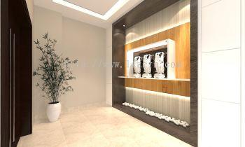 Selangor Foyer Area Modern Contemporary Interior Design