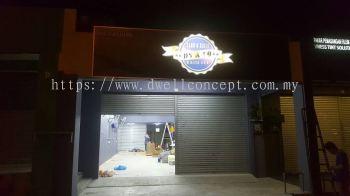 DS & CO CAR WASH EG BOX UP LED CONCEAL