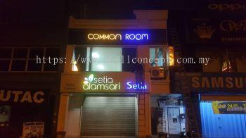 Common Room Led Signage At Bangi