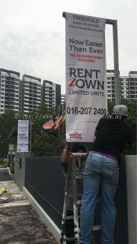 F Post Installed At Bukit Jelutong
