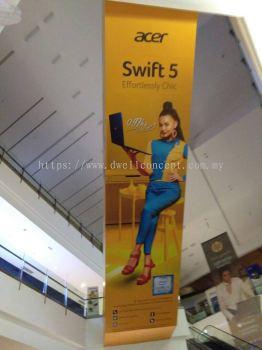 IOI City Mall Acer Escalator Wrapping Sticker