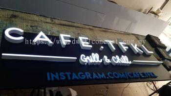 cafe signage