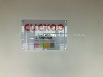 Cuckoo lightbox install at cyberjaya