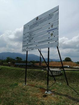 Tanjong Malim Project Sign