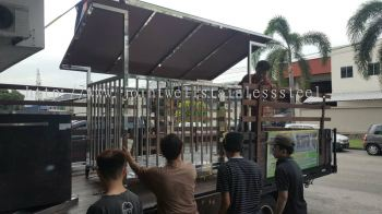 Stanby To Delivery Cage