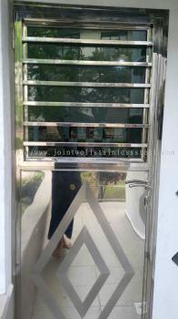 Steel Back Door With Glass
