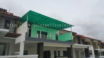 Polycarbonat Balcony