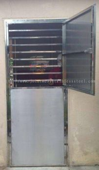 Steel Safety Door Kitchen