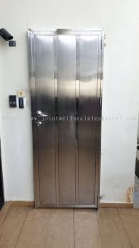 Stainless Safety Door