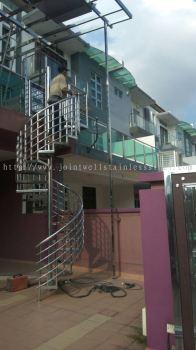 Spiral Stair Railing
