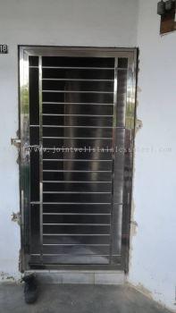 Safety Door Without Wood Door