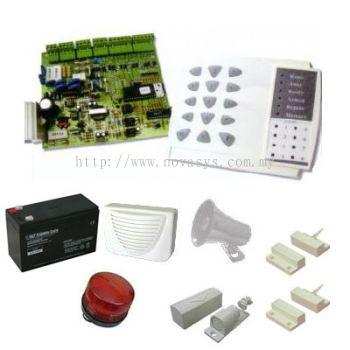 DFA3300 8 Zones Alarm System