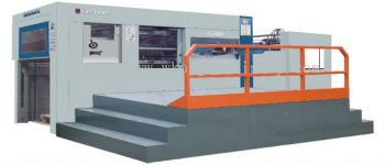Die-cutting and Creasing Machine with Stripping