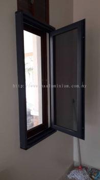Casement window multipoint