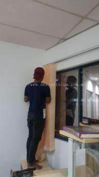 vertical blind curtain
