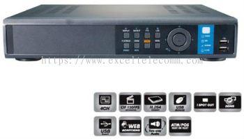 HDF1212E (4 Channel DVR)
