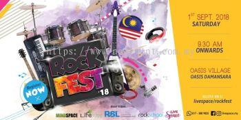 RockFest 2018 | Live Space