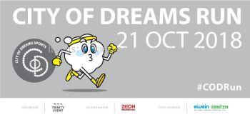 City Of Dreams Run 2018