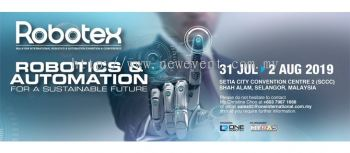 ROBOTEX 2019 ��C Malaysia International Robotics & Automation Exhibition & Conference