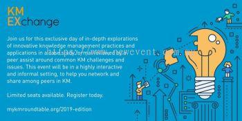KM Exchange 2019 Conference Kuala Lumpur