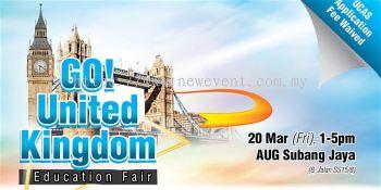 GO! UK Education Fair March 2020